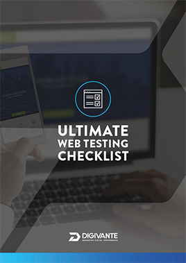 the ultimate web testing checklist cover
