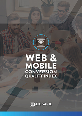 Web & Mobile conversion quality index cover